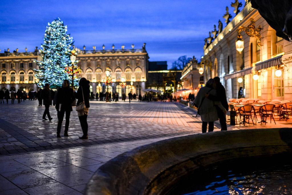 Nancy, Noël sur la Place Stanislas