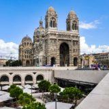 Marseille, Cathédrale de la Major - Terrasse du port