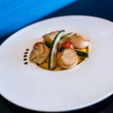 Risotto de St Jacques-Restaurant L'Atelier-Ludres