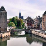 Strasbourg, Ponts couverts-Petite France-Cathédrale